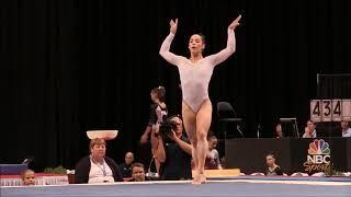 Aly Raisman (USA) Floor Exercise Start Value 2015 Nationals