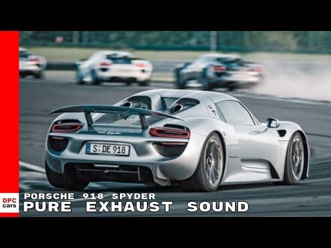 Porsche 918 Spyder Pure Exhaust Sound