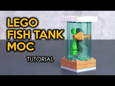 How to Build a LEGO Fish Tank
