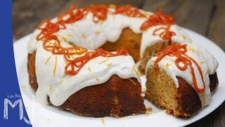 CARROT CAKE | Tarta de zanahoria (con frosting de yogur)