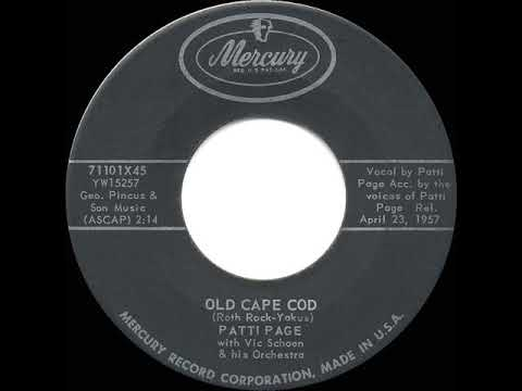 1957 HITS ARCHIVE: Old Cape Cod - Patti Page