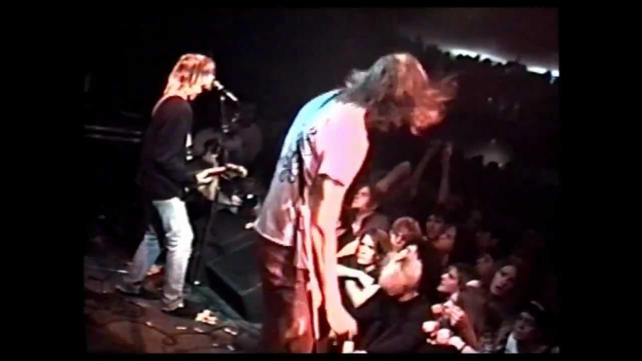 Nirvana - Roma 1991 - Teatro Castello