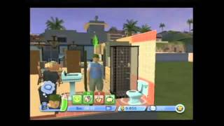 Sims 3 for Nintendo Wii (Gameplay)