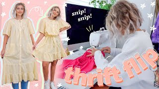 thrift flip UGLY thrift store clothes CUTE for SPRING