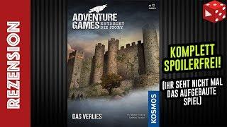 Adventure Games: Das Verlies (KOSMOS 2019) Rezension (Spoilerfrei)