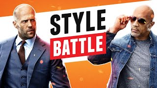 "Jason Statham Vs Dwayne ""The Rock"" Johnson (Hobbs & Shaw) Style Beatdown"