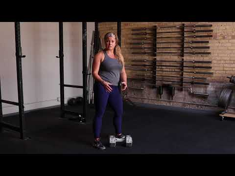 Unapologetically Powerful Demo: Dumbbell Kroc Row