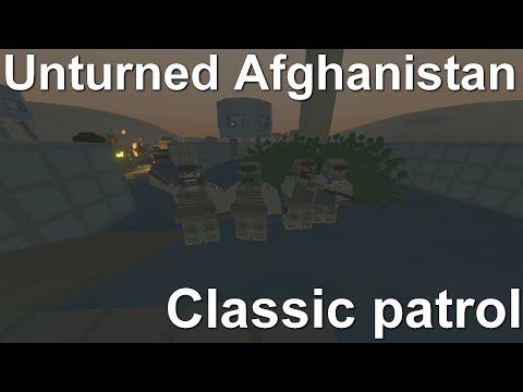 [S-M] Unturned Afghanistan - Classic patrol /w WW2 group