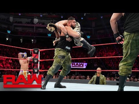 Lucha House Party vs. The B-Team vs. AOP vs. The Revival - Fatal 4-Way Match: Raw, Dec. 17, 2018