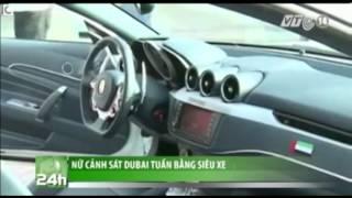 VTC14_Nữ cảnh sát Dubai tuần bằng siêu xe