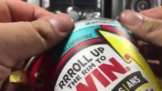 2016 Tim Hortons RRRoll Up The Rim 9 Cups