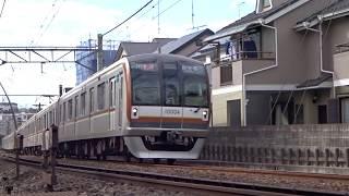 東京メトロ副都心線10000系10004F妙蓮寺3号踏切通過