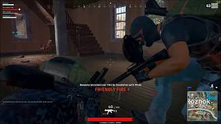 Team killed! 3 hours later he's Banned (Player Unknown's Battlegrounds)