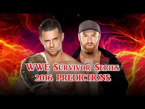 WWE Survivor Series 2016 Intercontinental Championship The Miz vs. Sami Zayn Predictions