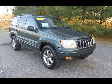 2002 Jeep Grand Cherokee Limited 4X4|P10524A. Neighborhood Car Reviews