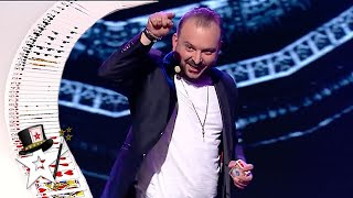 Judges Are SHOCKED Watching Card Magician on Romania's Got Talent 2021 | Got Talent Global
