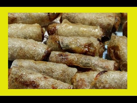 Spring Rolls With Rice Paper