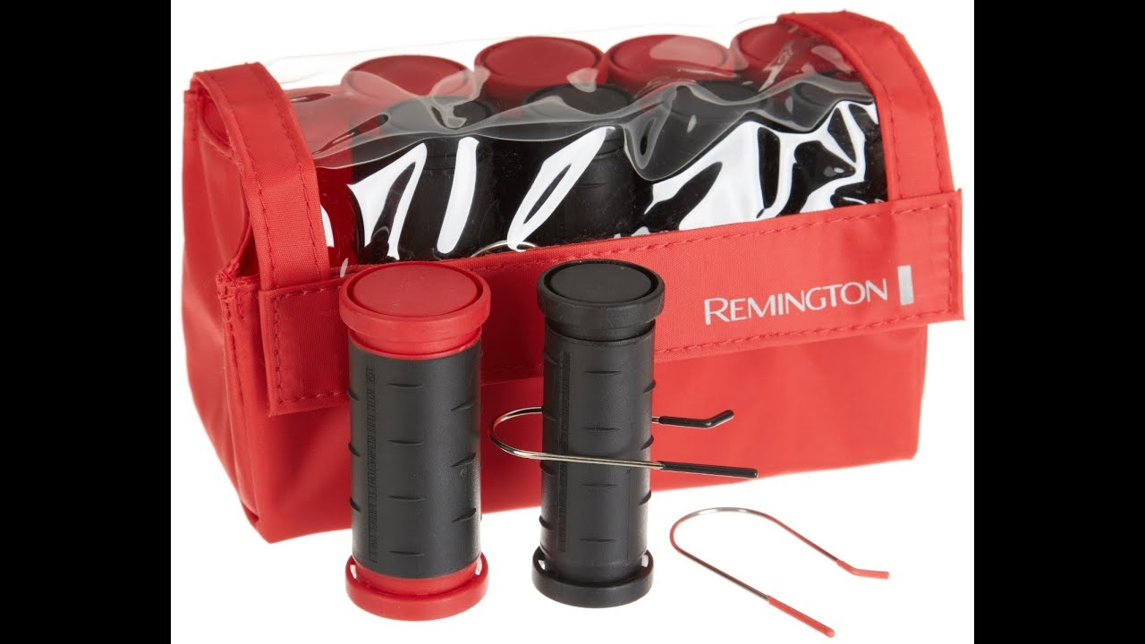 Target Clearance Remington Travel Hot Rollers Demo Review Dimedivatv You