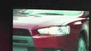 LA 2007: Mitsubishi introduces the 2009 Lancer Evolution X