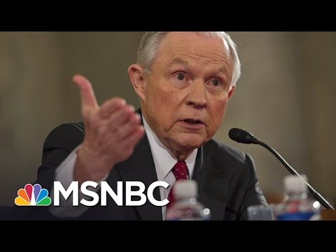 Jeff Sessions Says NYC Is Soft On Crime | All In | MSNBC