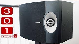 Bose 301 Series V Sound Demo, Acoustic Live