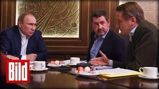 Wladimir Putin im Gespräch mit Kai Diekmann & Nikolaus Blome über Schröder und Ukraine