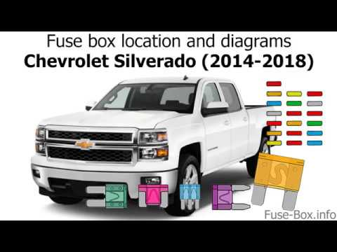 Fuse Box Location And Diagrams Chevrolet Silverado 2014 2018 Youtube