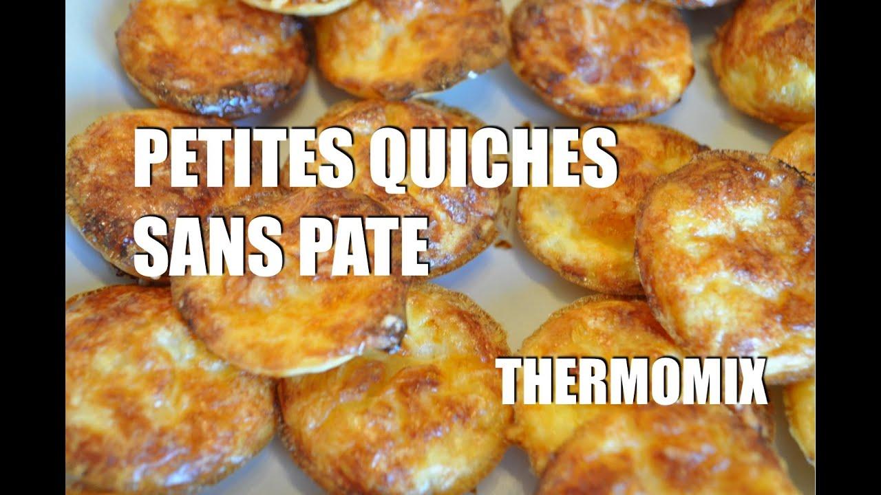 La recette des petites quiches sans pâte avec le Thermomix pour les enfants  TM5