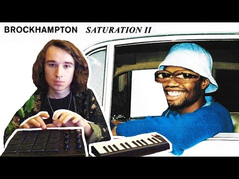Sampling every song off SATURATION II in ONE BEAT BROCKHAMPTON
