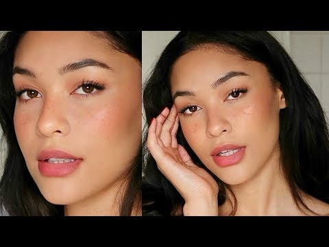 SUNKISSED FRECKLES 'NO MAKEUP' MAKEUP LOOK   Sian Lilly - YouTube