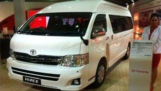Toyota Hiace | 12th Auto Expo 2014