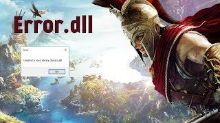 Ошибка Assassin's Creed® Odyssey Unable to load library dbdata.dll