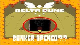 deltarune how to enter gasters secret bunker