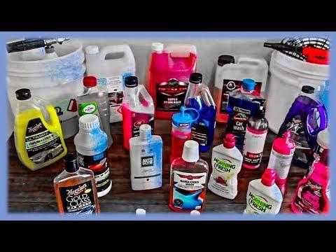 Best Car Wash Detergents/Products & Techniques Reviewed
