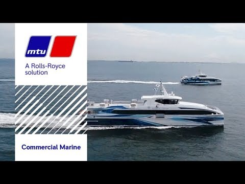 How Majestic Fast Ferry boosted its fleet with MTU solutions in Batam