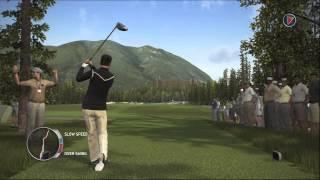 Tiger Woods 14 Simulation Career Gameplay Walkthrough Part 37 - Round 2 of 2 at Banff Springs