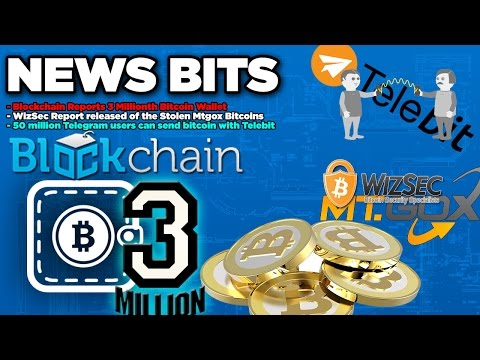 Blockhain 3million wallets,Released MtGox stolen BTC,50 million users can send btc with Telebit