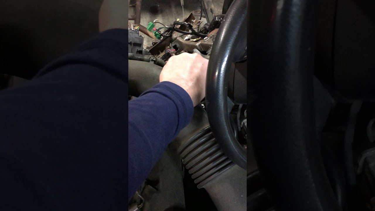 medium resolution of crown vic start after thinning wiring harness