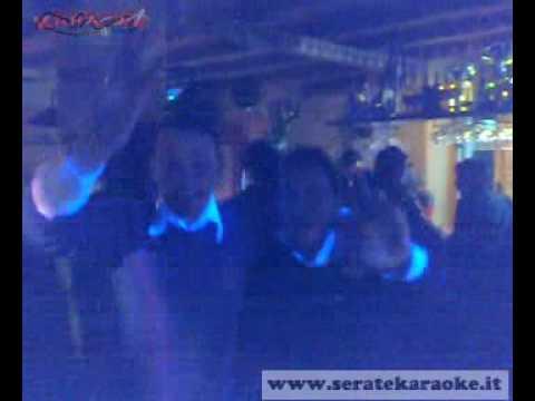 Davidù KARAOKE a S. Stefano di Camastra Pub 900 Finchè la barca và 25-12-2009.flv