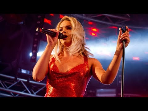 Louisa Johnson Live  with Clean Bandit  Performing Tears at Manchester Pride 2017