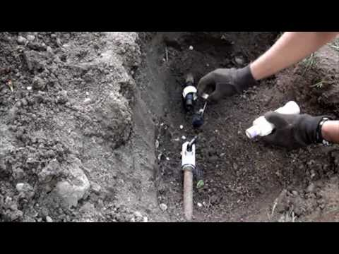 3 4 Quot Galvanized Sprinkler Pipe Repair Youtube