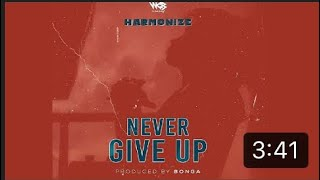 Harmonize - Never Give Up (official Audio)
