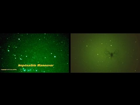 UFO Lou  - UFO BUZZES SATELLITE - Further evidence or Not?
