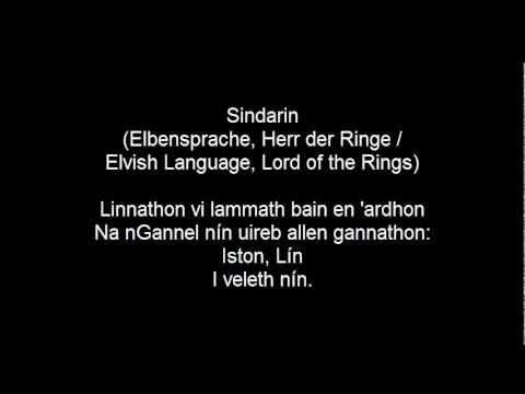 Bodo Wartke, Liebeslied in 85 Sprachen, mit Texten, 2. Teil
