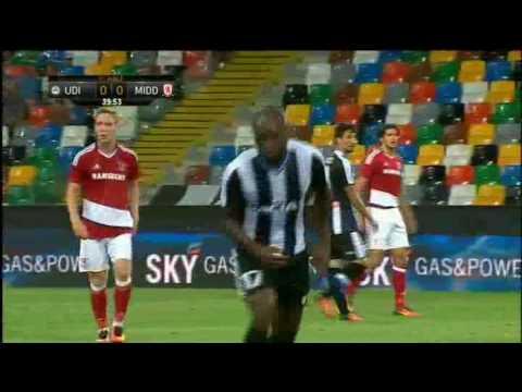 UDINESE TV - La sintesi di Udinese-Middlesbrough 0-0