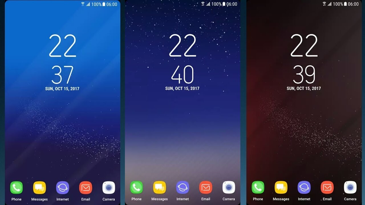 Note 8 / S8 Infinity Live Wallpapers For Any Android | No Root