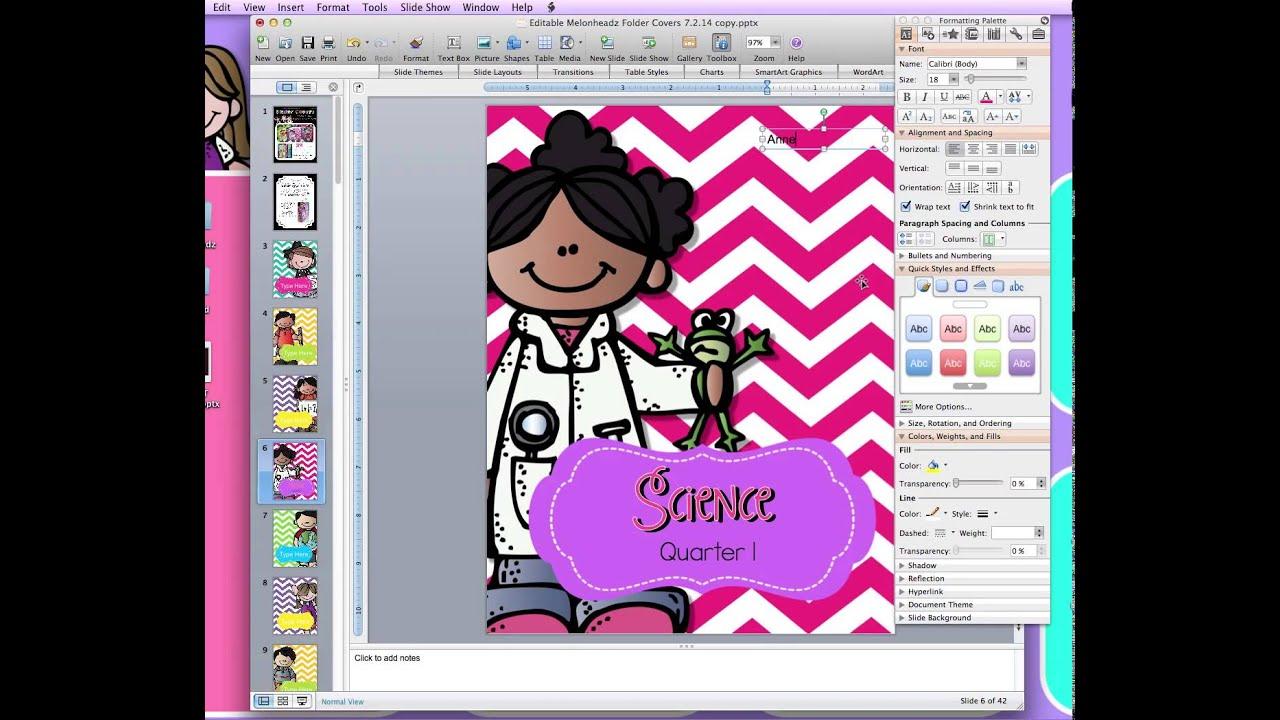 using custom fonts on editable teachers pay teachers files