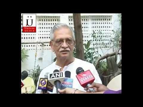 Gulzar Sahab's Interview After Being Felicitated With Prestigious Dada Saheb Phalke Award