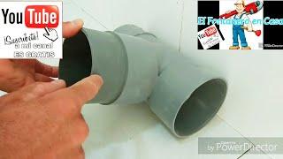 Como despegar tuberías y piezas de PVC con Soplete.
