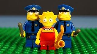 Лего Минифигурки 71005 Симпсоны. Конструктор Лего. Лего Мультики на русском.